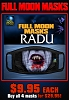 Full Moon Masks - Radu