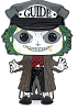 Beetlejuice Horror Large Enamel Pop! Pin