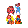 CHILD'S PLAY Chucky WALL DECOR
