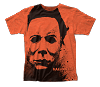 Halloween Michael Myers Splatter Mask T-shirt