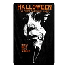Halloween Digital Fleece Throw Blanket