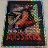 Nail Gun Massacre Retro Prismatic Horror Sticker