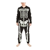 Glow in the Dark Skeleton Union Suit