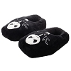 The Nightmare Before Christmas Glow In The Dark Coffin Plush Slippers