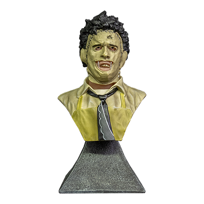THE TEXAS CHAINSAW MASSACRE LEATHERFACE - MINI BUST