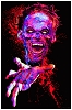 Zombie Touch Blacklight Poster