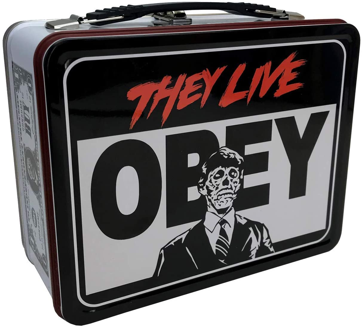 THEY LIVE Tin Tote Lunch Box
