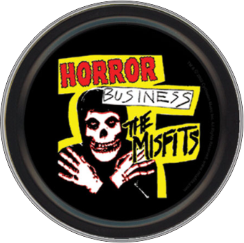 MISFITS HORROR BUSINESS ROUND STASH TIN
