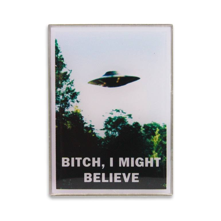BITCH, I MIGHT BELIEVE PHOTODOME PIN