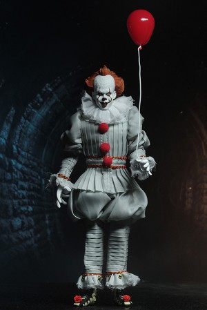 "IT - 8"" Clothed Figure - Pennywise (2017)"