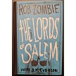 Lords of Salem Hardback Autographed by Rob Zombie